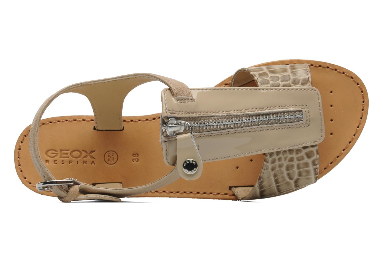 Sandali e scarpe aperte Geox D JOLANDA K-D5275K Beige immagine sinistra