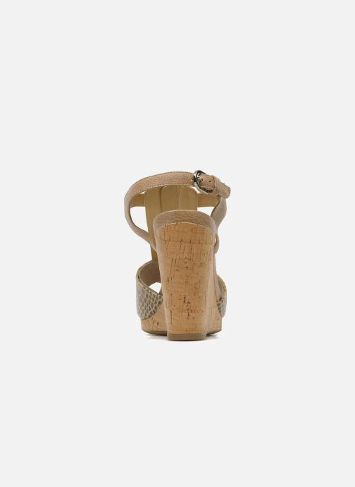 Sandali e scarpe aperte Geox D VICTORY F-D52P5F Beige immagine destra