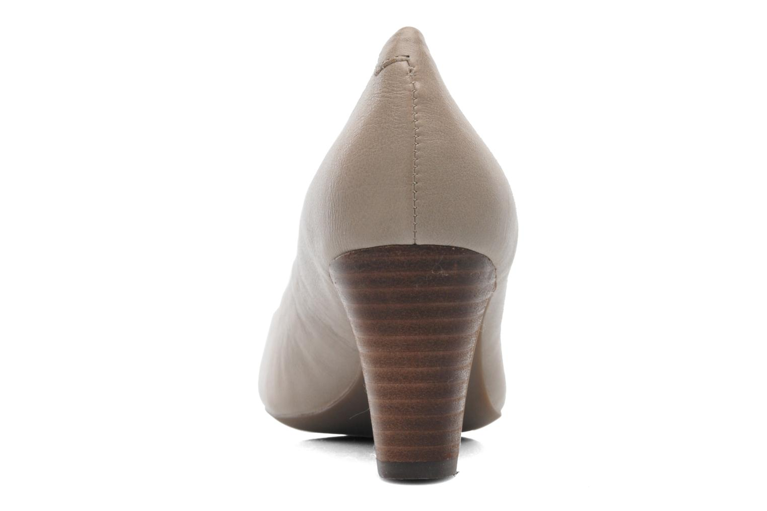 High heels Geox D MARIELE MID B D32T7B Beige view from the right