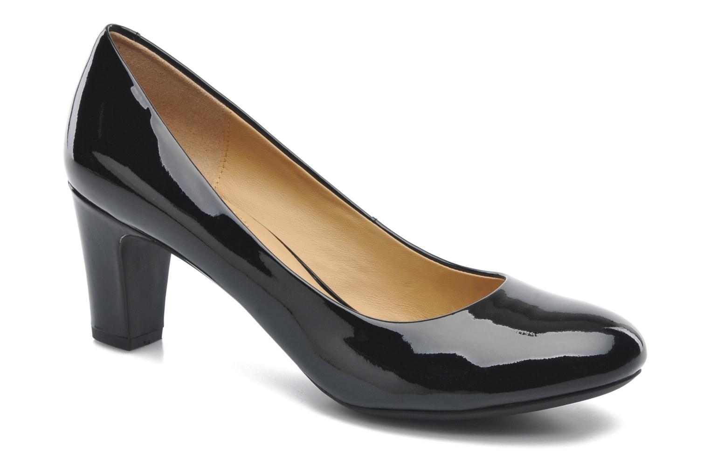 High heels Geox D MARIELE MID B D32T7B Black detailed view/ Pair view