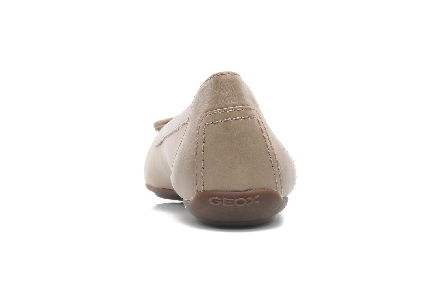 Ballerines Geox D CHARLENE A D32Y7A Beige vue droite