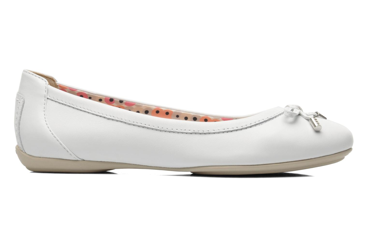 Ballet pumps Geox D CHARLENE A D32Y7A White back view