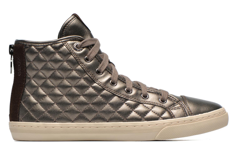 Sneakers Geox D NEW CLUB A D4258A Oro e bronzo immagine posteriore