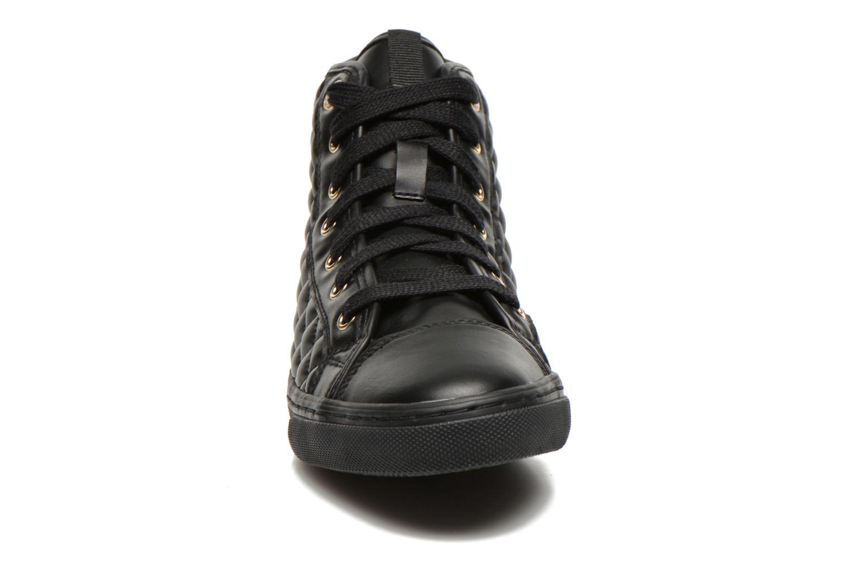 Baskets Geox D NEW CLUB A D4258A Noir vue portées chaussures