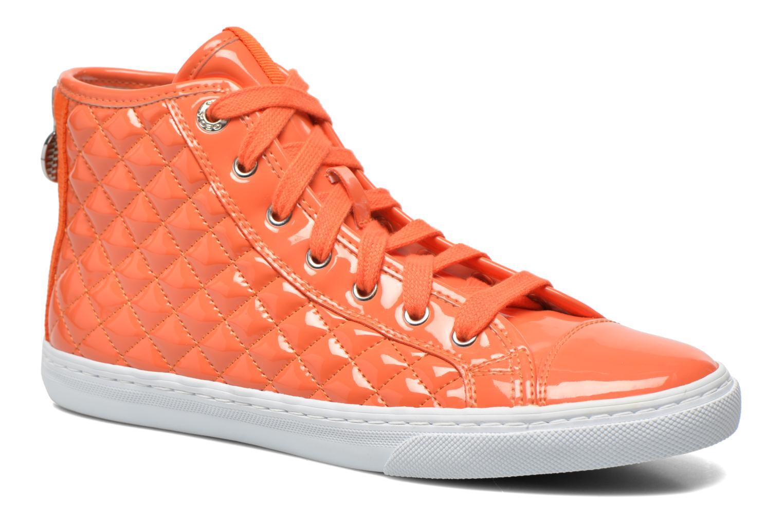 Baskets Geox D NEW CLUB A D4258A Orange vue détail/paire