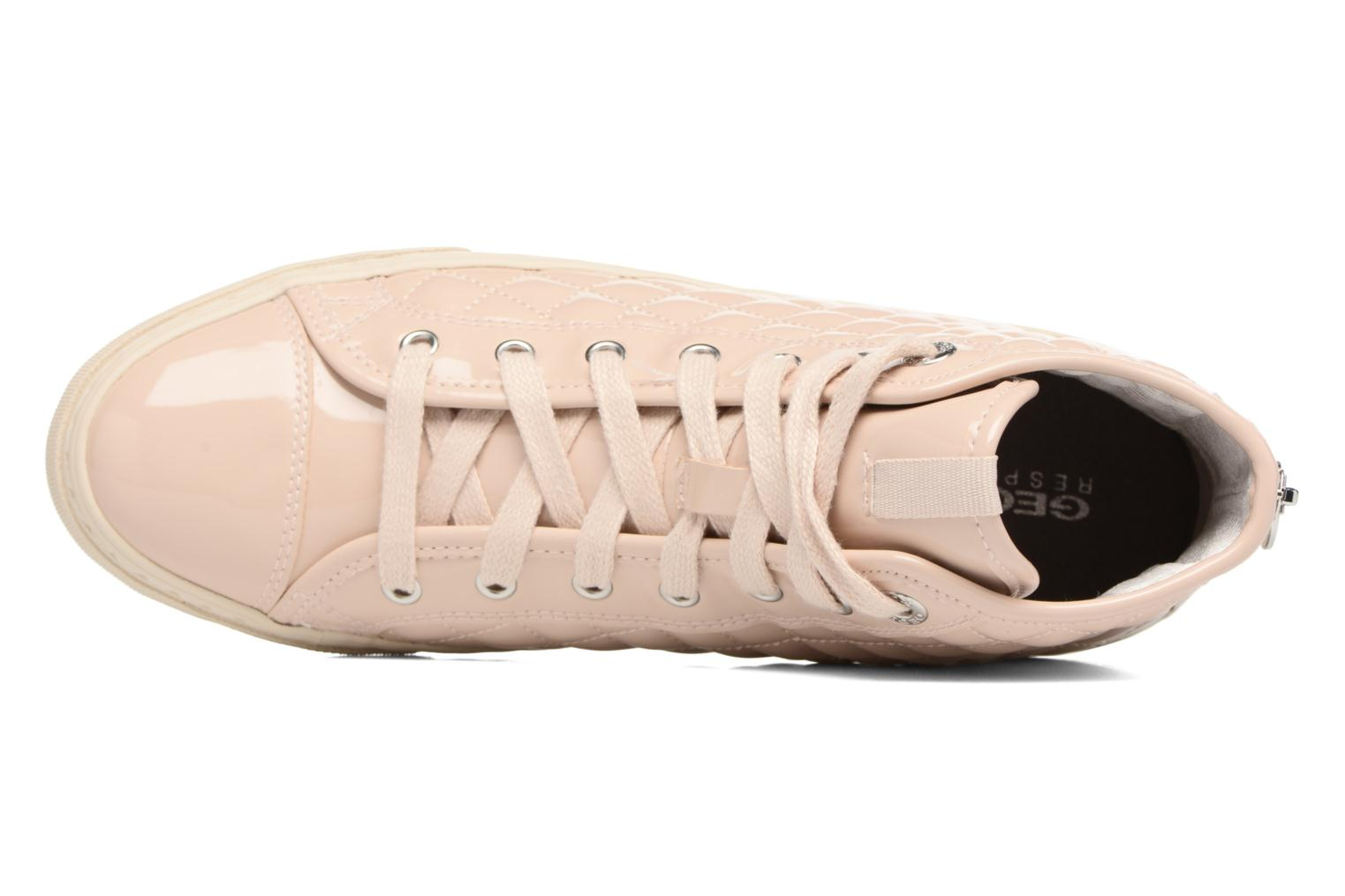 Sneakers Geox D NEW CLUB A D4258A Beige immagine sinistra