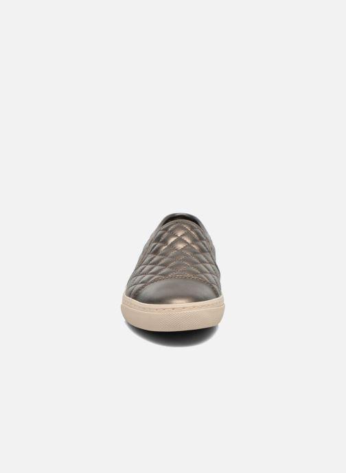 Geox D NEW CLUB C D5258C Sneakers 1 Sølv hos Sarenza (264342)