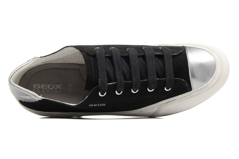 Baskets Geox D NEW MOENA D D5260D Noir vue gauche