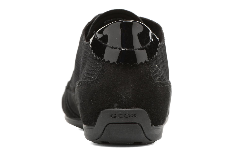 Baskets Geox D NEW MOENA D D5260D Noir vue droite