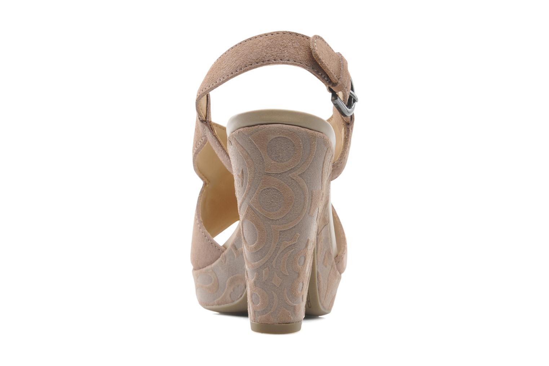 Sandali e scarpe aperte Geox D NURIT A D5271A Beige immagine destra
