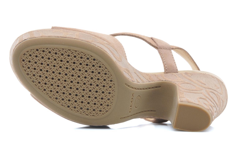 Sandali e scarpe aperte Geox D NURIT A D5271A Beige immagine dall'alto