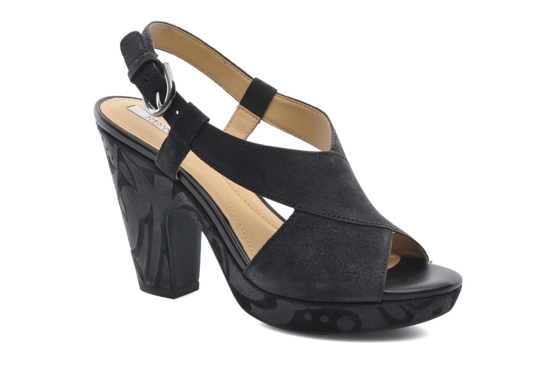 Sandaler Geox D NURIT A D5271A Sort detaljeret billede af skoene