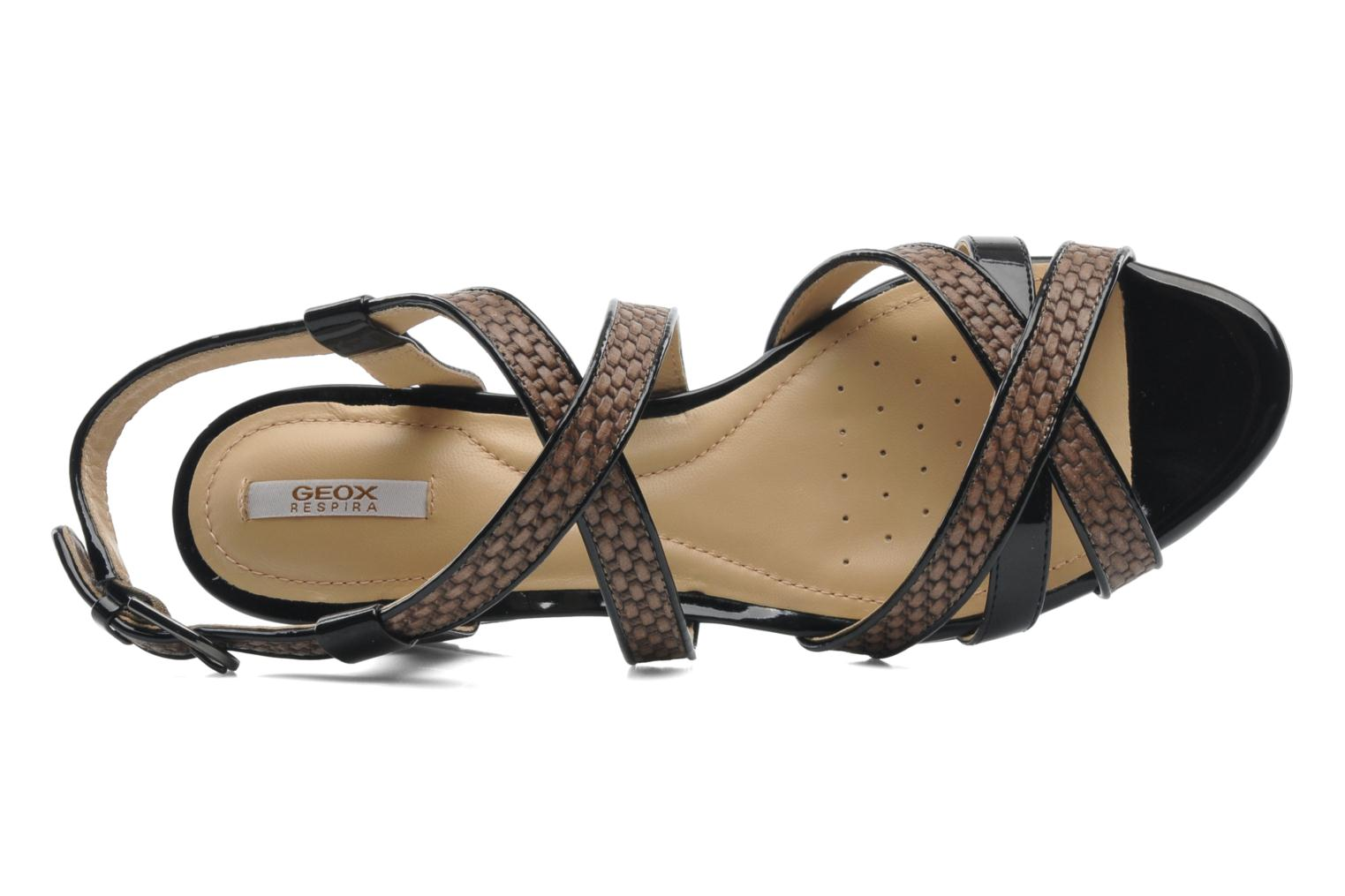Sandals Geox D LUPE A D5283A Multicolor view from the left