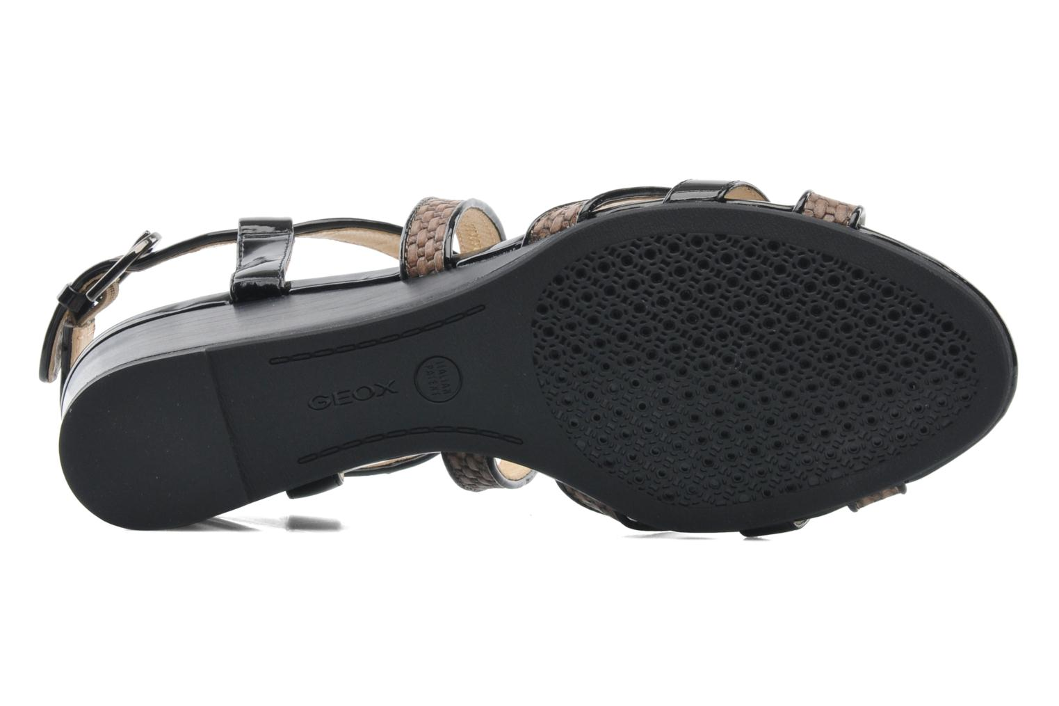 Sandals Geox D LUPE A D5283A Multicolor view from above