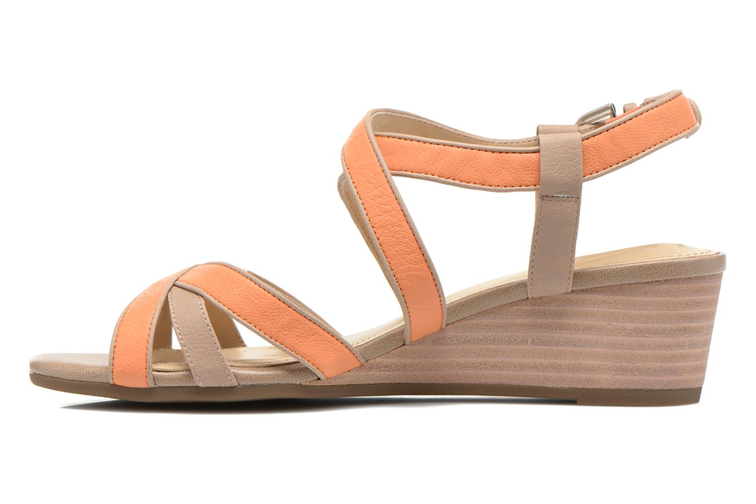 Sandals Geox D LUPE A D5283A Orange front view