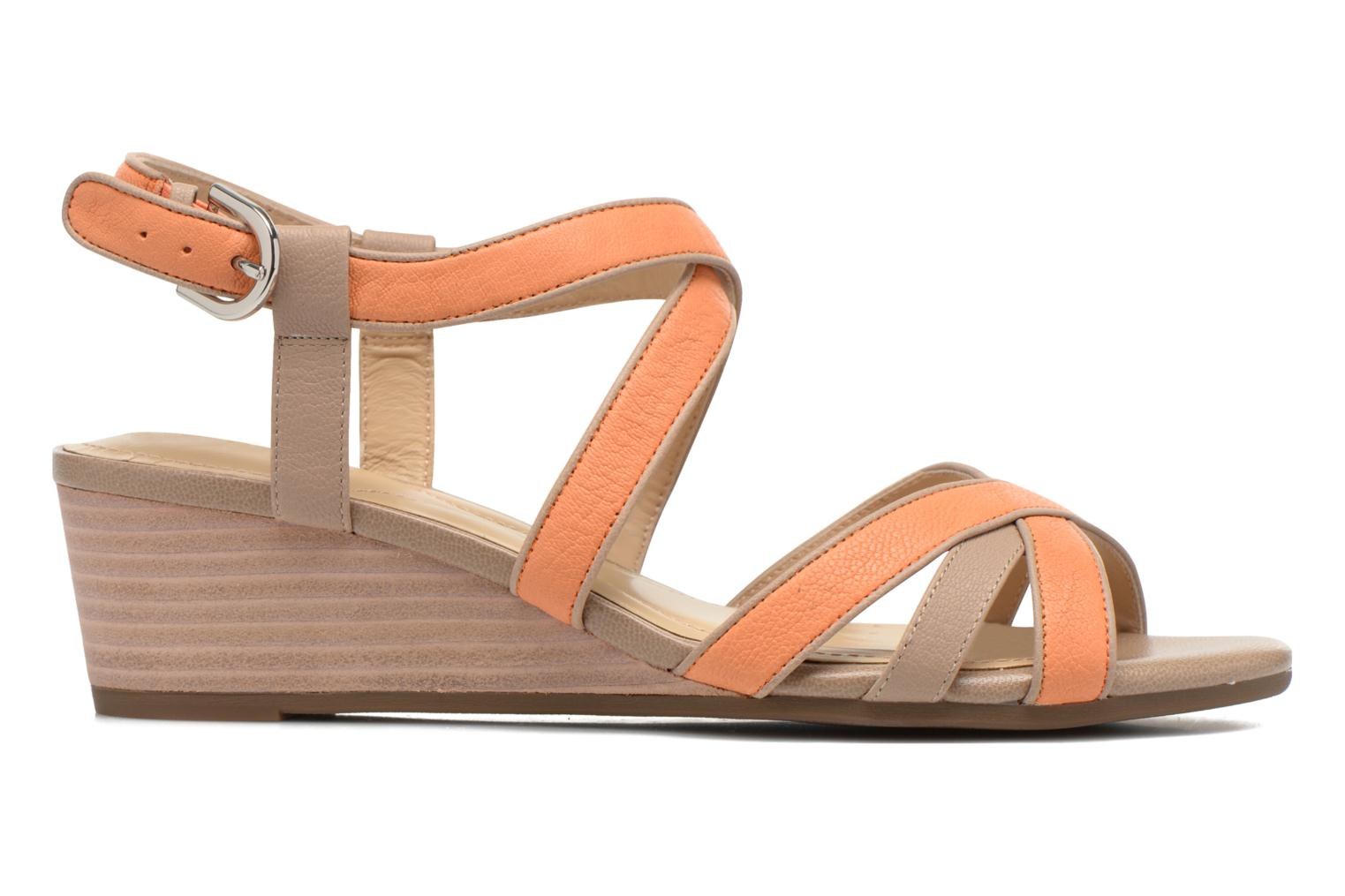Sandals Geox D LUPE A D5283A Orange back view