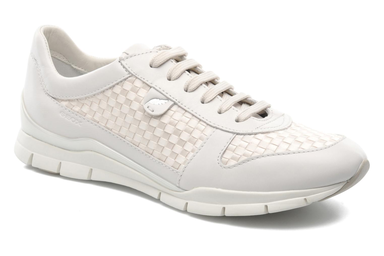 Geox D SUKIE A D52F2A (Blanc) - Baskets en Más cómodo Chaussures casual sauvages