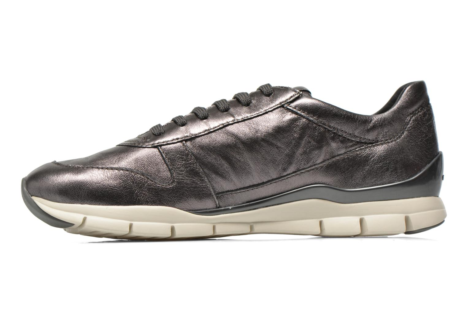 Sneakers Geox D SUKIE A D52F2A Grigio immagine frontale
