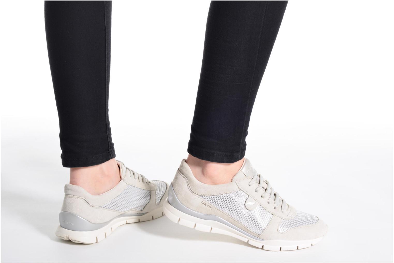 Sneakers Geox D SUKIE A D52F2A Beige immagine dal basso