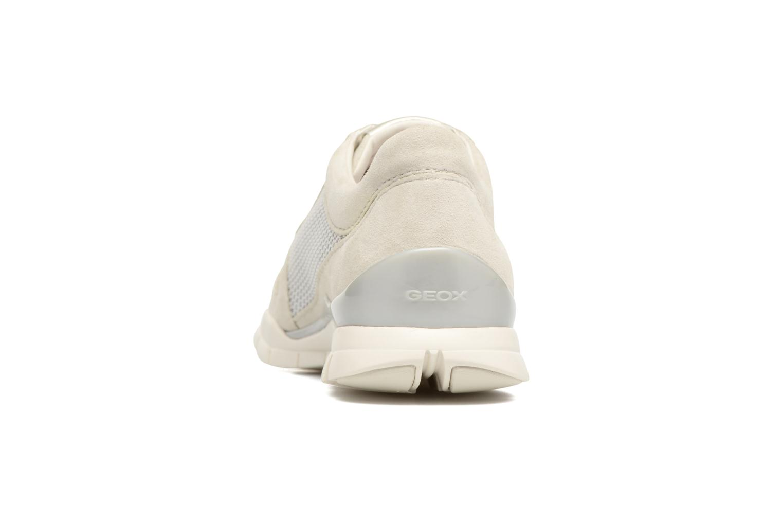 Sneakers Geox D SUKIE A D52F2A Beige immagine destra