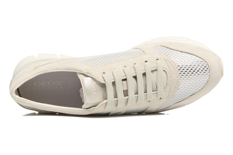 Sneakers Geox D SUKIE A D52F2A Beige immagine sinistra