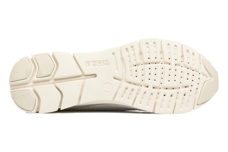 Sneakers Geox D SUKIE A D52F2A Beige immagine dall'alto