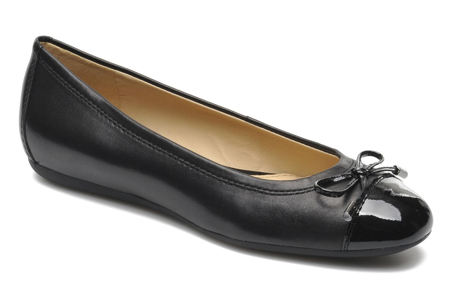 Ballet pumps Geox D LOLA A D93M4A Black detailed view/ Pair view