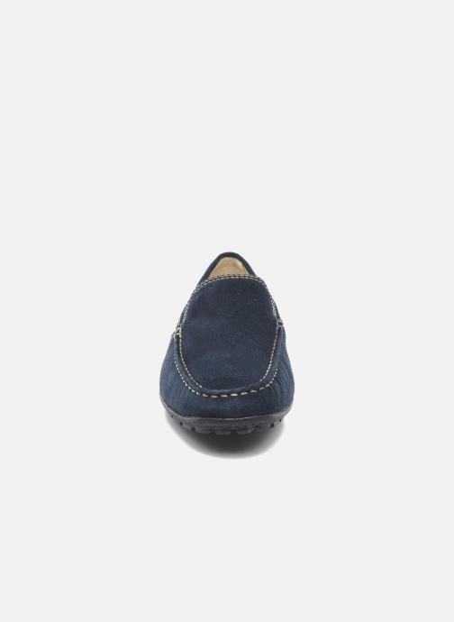 Mocassins Geox U MONET V U1144V Bleu vue portées chaussures