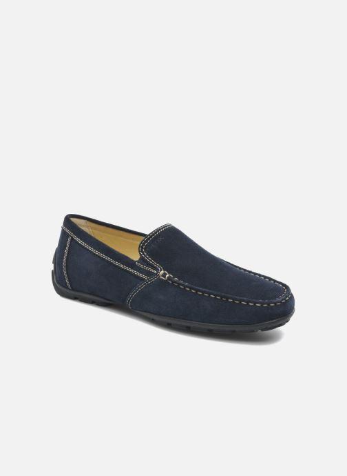 Loafers Geox U MONET V U1144V Blå detaljeret billede af skoene
