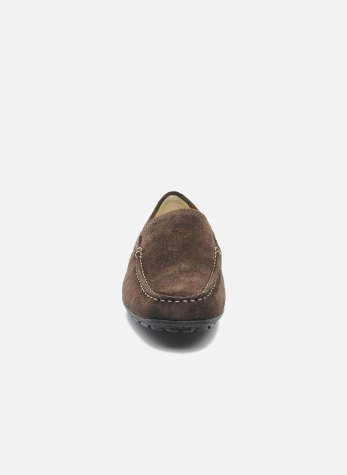 Mocassins Geox U MONET V U1144V Marron vue portées chaussures
