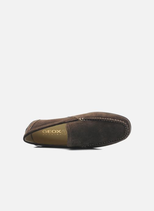Slipper Geox U MONET V U1144V braun ansicht von links