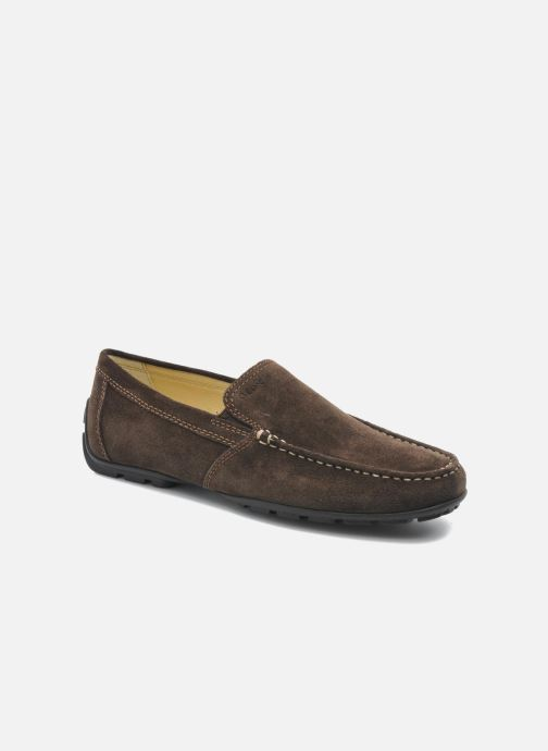Loafers Geox U MONET V U1144V Brun detaljeret billede af skoene
