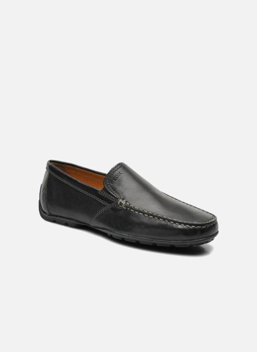 Loafers Geox U MONET V U1144V Sort detaljeret billede af skoene