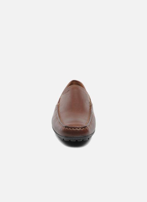 Loafers Geox U MONET V U1144V Brun bild av skorna på
