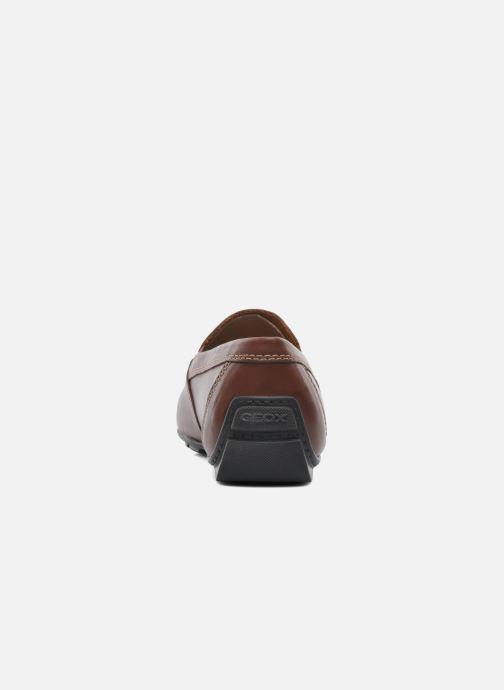 Loafers Geox U MONET V U1144V Brun Se fra højre