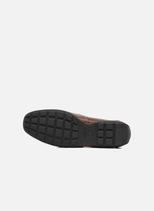 Loafers Geox U MONET V U1144V Brun bild från ovan