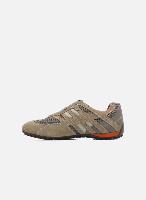 Sneakers Geox U SNAKE K U4207K Beige immagine frontale