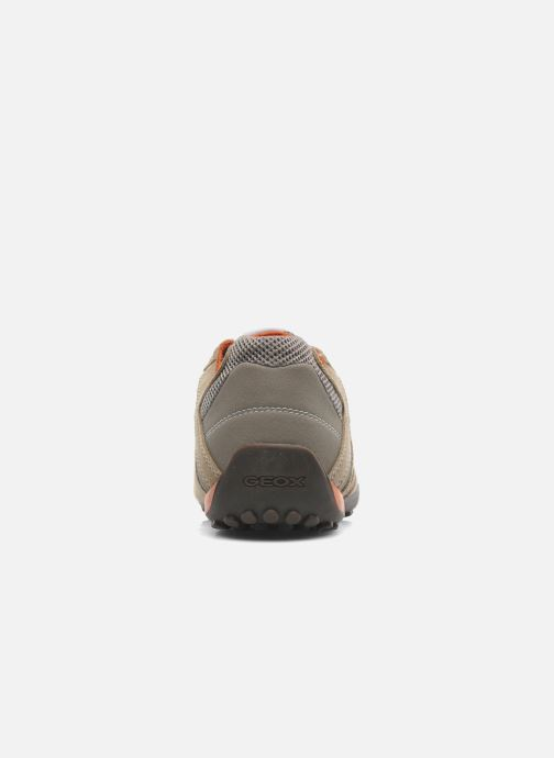 Trainers Geox U SNAKE K U4207K Beige view from the right