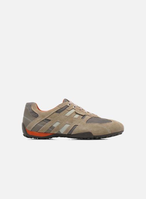 Sneaker Geox U SNAKE K U4207K beige ansicht von hinten