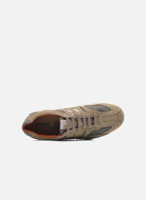 Sneakers Geox U SNAKE K U4207K Beige immagine sinistra