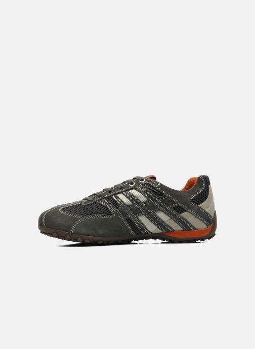 Sneaker Geox U SNAKE K U4207K grau ansicht von vorne