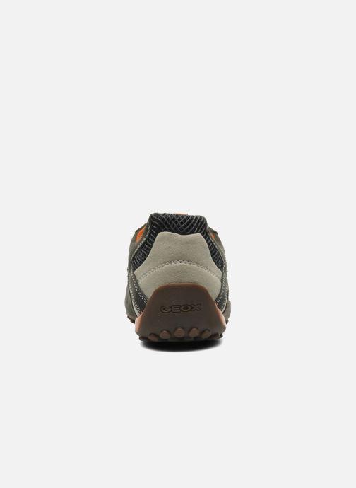 Sneaker Geox U SNAKE K U4207K grau ansicht von rechts