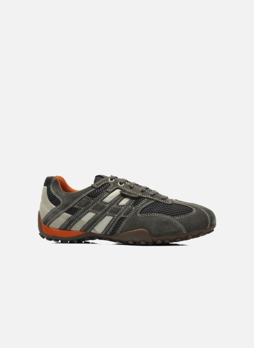 Sneaker Geox U SNAKE K U4207K grau ansicht von hinten