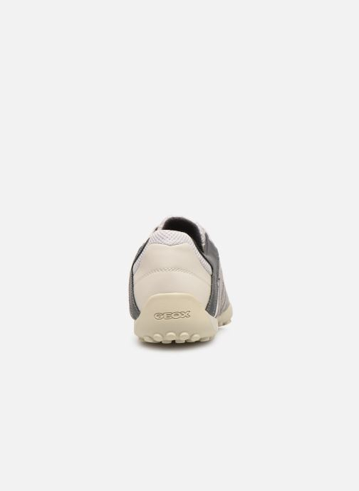 Trainers Geox U SNAKE K U4207K White view from the right