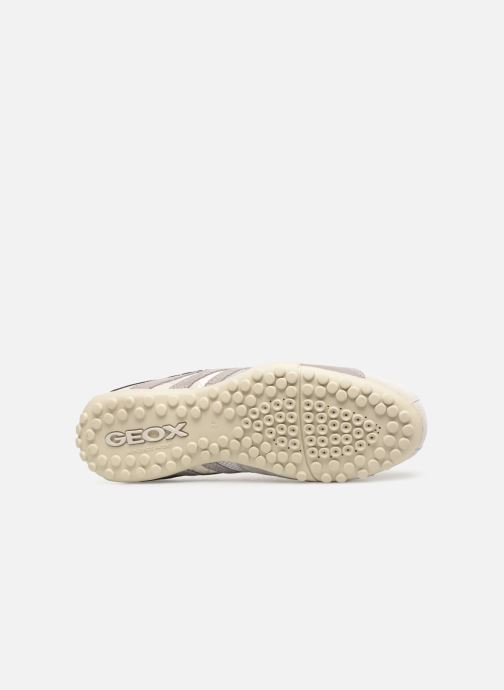Trainers Geox U SNAKE K U4207K White view from above