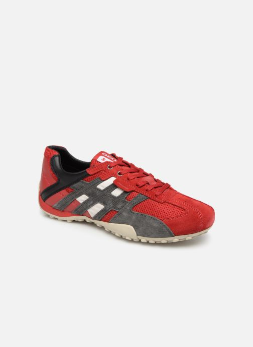 Sneaker Geox U SNAKE K U4207K rot detaillierte ansicht/modell