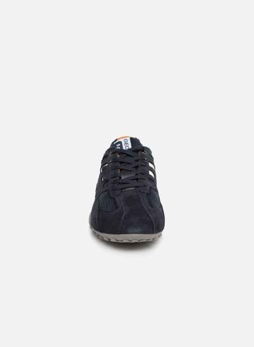 Trainers Geox U SNAKE K U4207K Blue model view