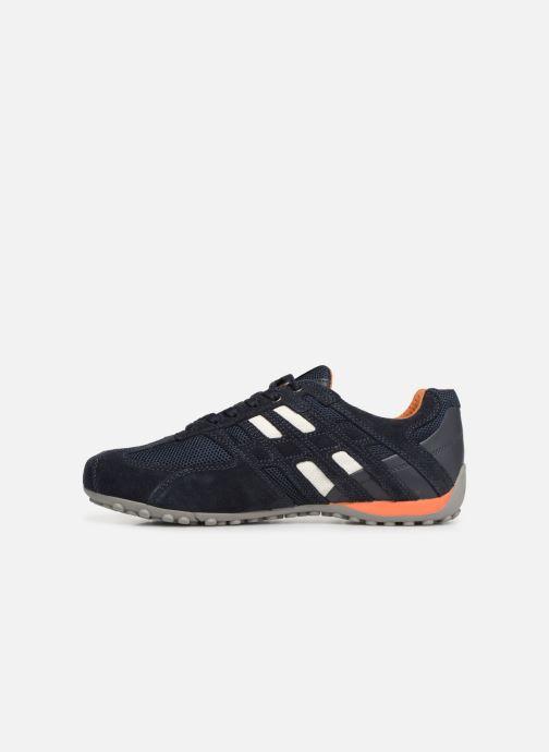 Sneaker Geox U SNAKE K U4207K blau ansicht von vorne