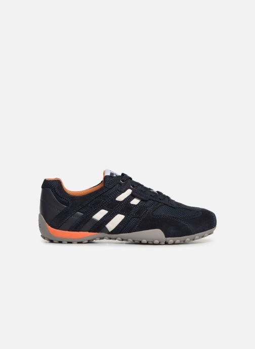 Sneaker Geox U SNAKE K U4207K blau ansicht von hinten