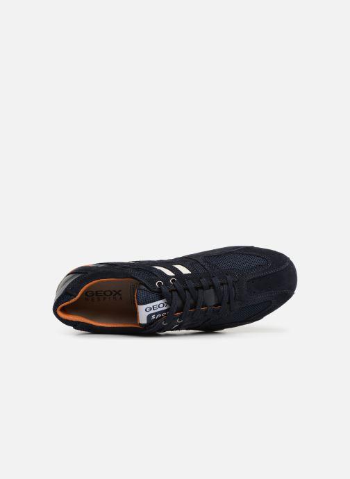 Sneaker Geox U SNAKE K U4207K blau ansicht von links